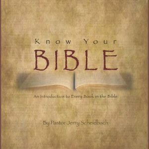 Know Your Bible—Introductions (v. 7)